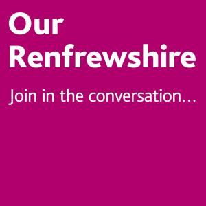 Do you want to help change Renfrewshire's future?