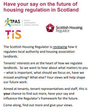 Have your say on the future of housing regulation in Scotland